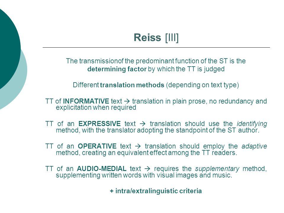 Reiss [III]